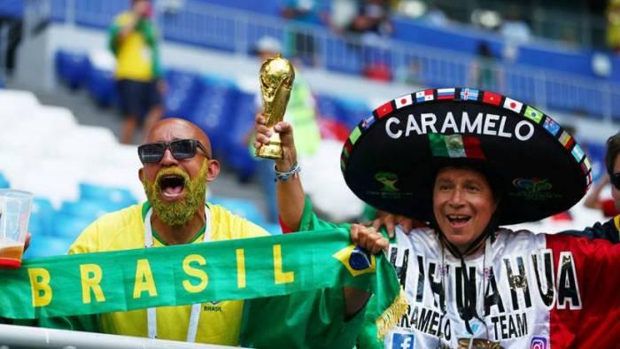 México y Brasil a muerte por una plaza en los cuartos de final de Rusia 2018
