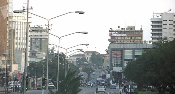 Presidente eritreo llega a Etiopía para una visita