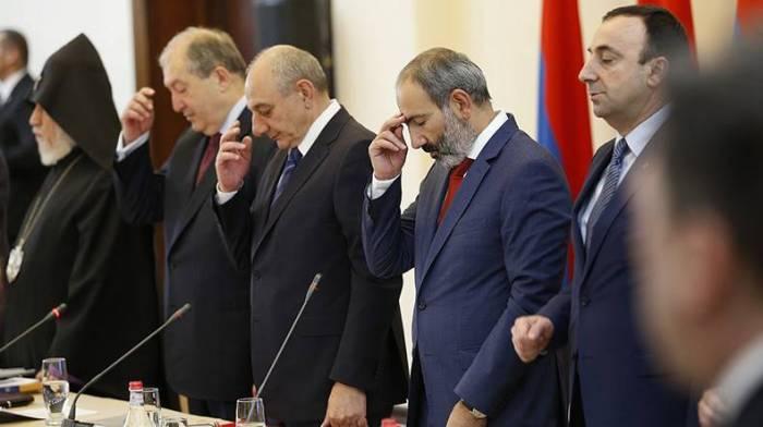 """""""Böyük Ermənistan"""" ideoloqlarının korrupsiya işi"""