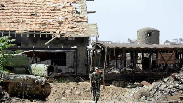 Sud syrien: accord entre Damas et des rebelles