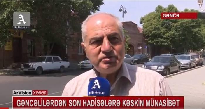 Gəncəlilərdən son hadisələrə kəskin münasibət - VİDEO