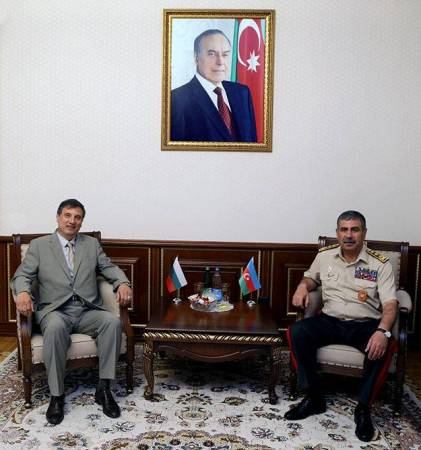 Azerbaijan, Bulgaria mull issues of military co-op