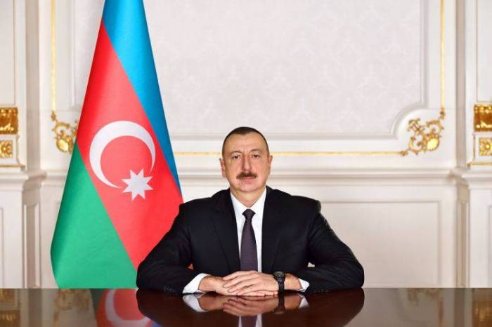 Ilham Aliyev meets president of French SADE company
