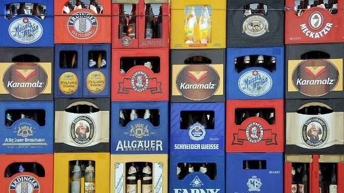 Brauer: Bierkästen werden knapp