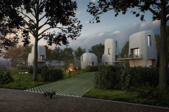 Bientôt des maisons imprimées en 3D aux Pays-Bas