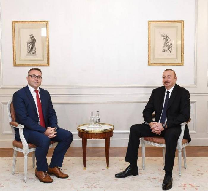 President Ilham Aliyev meets with head of Iveco France company