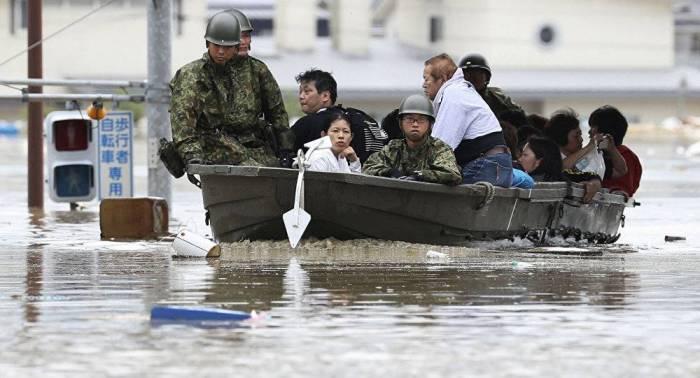 La ola de calor y las inundaciones suman víctimas en Japón