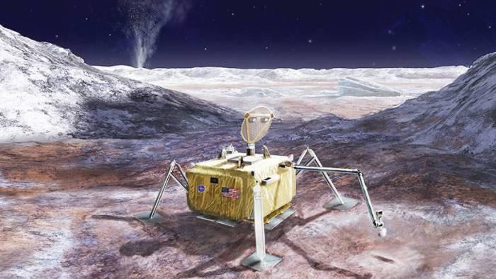 Señales de vida en una luna de Júpiter podrían estar a un centímetro de su superficie