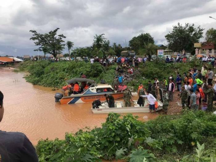 Laos scrambles for food, medicines, coffins after dam burst