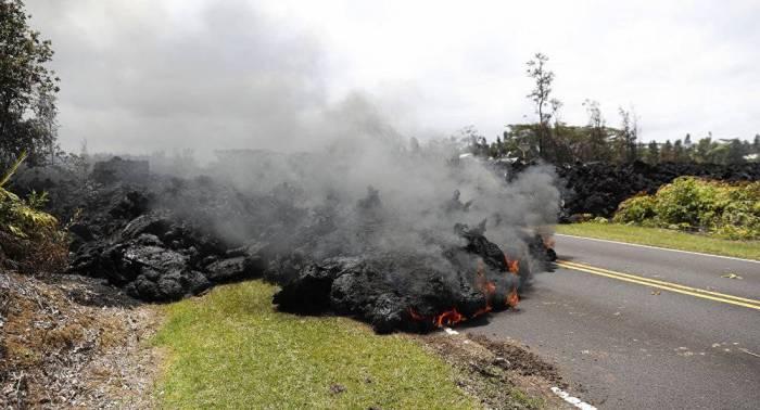 Al menos 23 heridos por explosión de lava en Hawái
