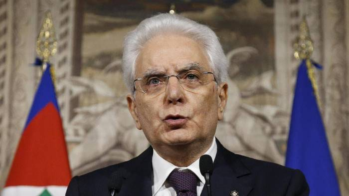 Mattarella: Italy to make every effort for peaceful resolution of Karabakh conflict