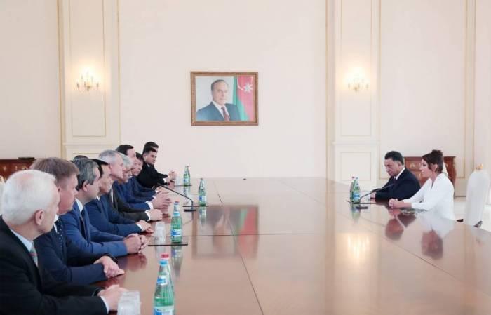 Mehriban Aliyeva se reúne con los ministros de los Asuntos Internos de los estados de CEI-Actualizado
