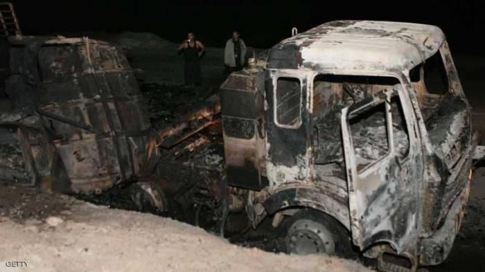مصر.. 12 قتيلا في اصطدام سيارة نقل بمنزل