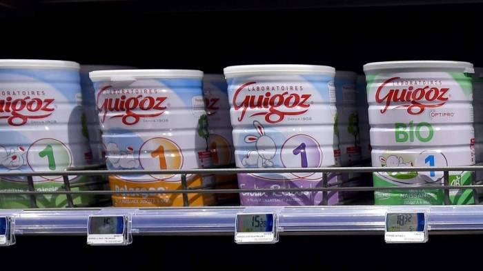 Nestlé rappelle 38 boîtes de lait infantile