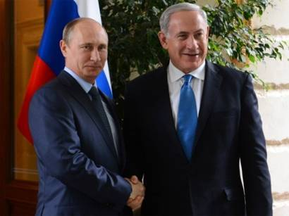 Putin notes positive development of Russian-Israeli relations