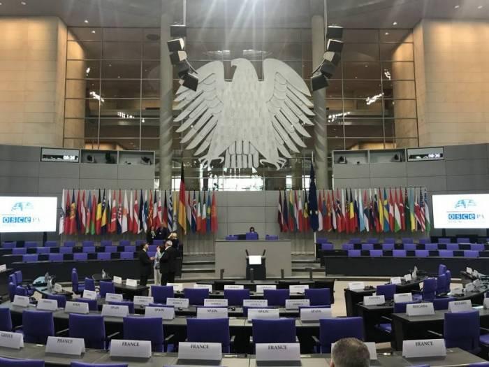 OSCE PA plenary session kicks off in Germany