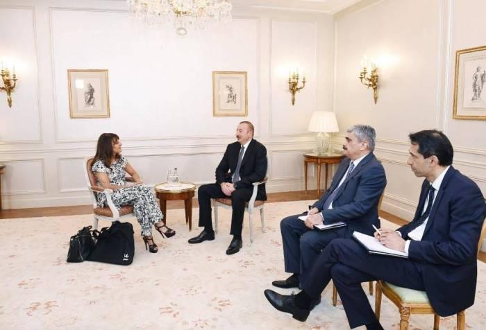 President Ilham Aliyev met with Managing Director of Wilmotte & Associes Architectes