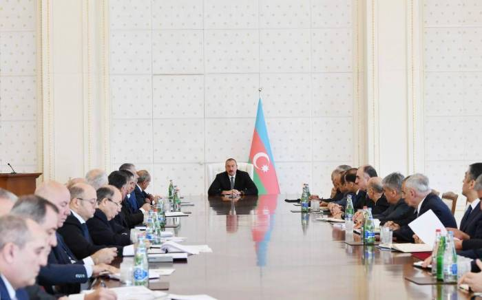 President Aliyev: Azerbaijan needs to further deepen reforms