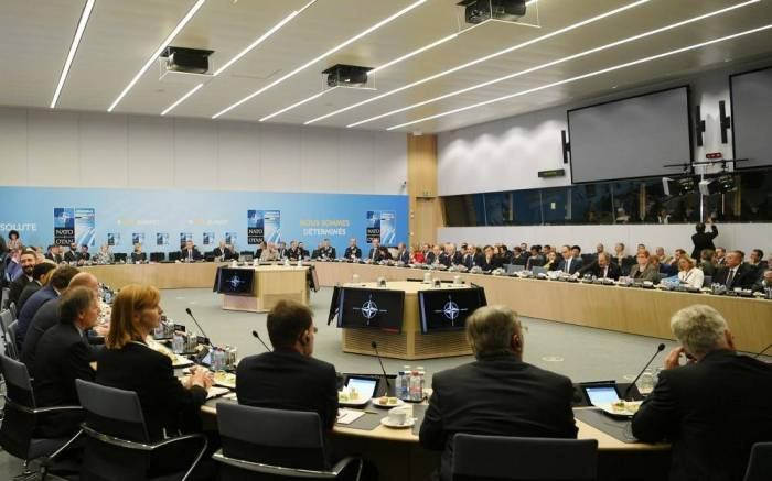 Ilham Aliyev attends meeting on NATO mission in Afghanistan
