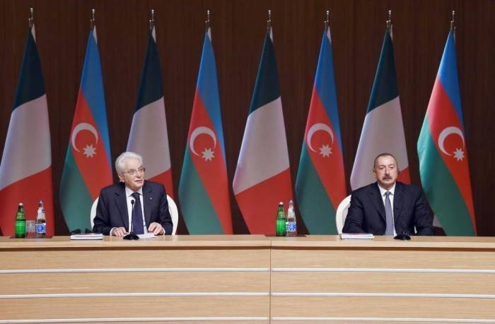 Sergio Mattarella: Italy can become Azerbaijan's reliable partner not only in trade