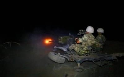 اطلاق النيران للجيش الاذربيجاني-صور،فيديو