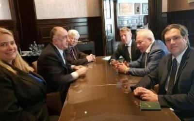 محمدياروف يجتمع مع الرئيسين المشاركين
