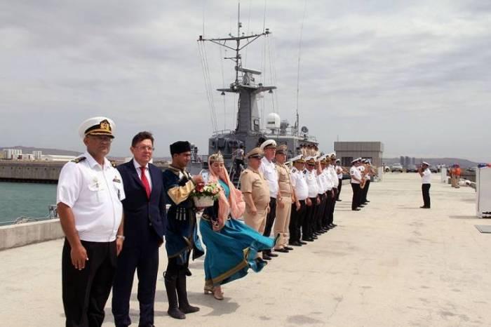 Russian warships arrive in Baku - PHOTOS