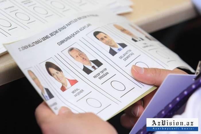 Türkiyədə seçkilərin yekun nəticələri açıqlandı