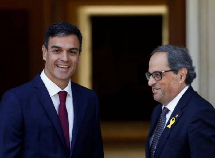 Spain PM meets Catalan leader in bid to defuse political tensions