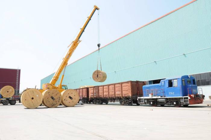 Sumgayit Technology Park supplies high voltage cable to Kazakhstan