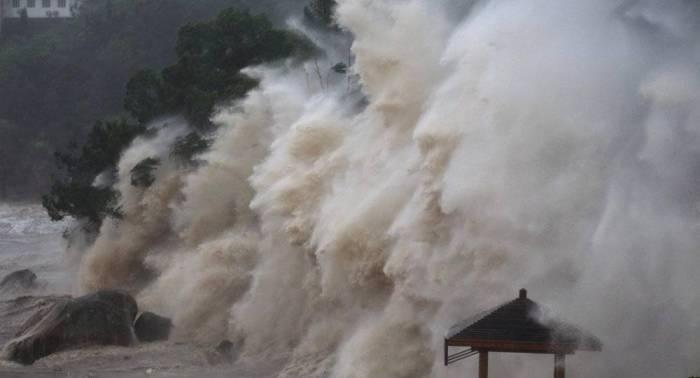 Asciende a 580.000 el número de evacuados del este de China por supertifón María