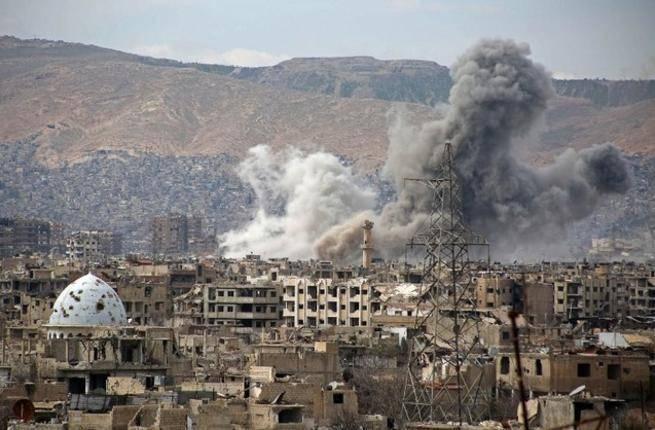 Əsədin ordusu İdlibi bombaladı