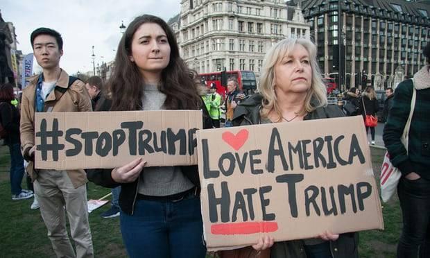 Trump's UK visit shames Theresa May. The protests must be huge - OPINION