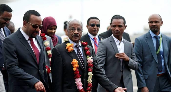 رئيس إريتريا يصل إلى إثيوبيا في زيارة تستغرق ثلاثة أيام