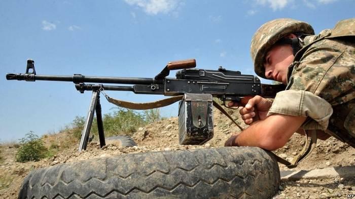 القوات المسلحة الأرمنية تخرق وقف اطلاق النار 103 مرة