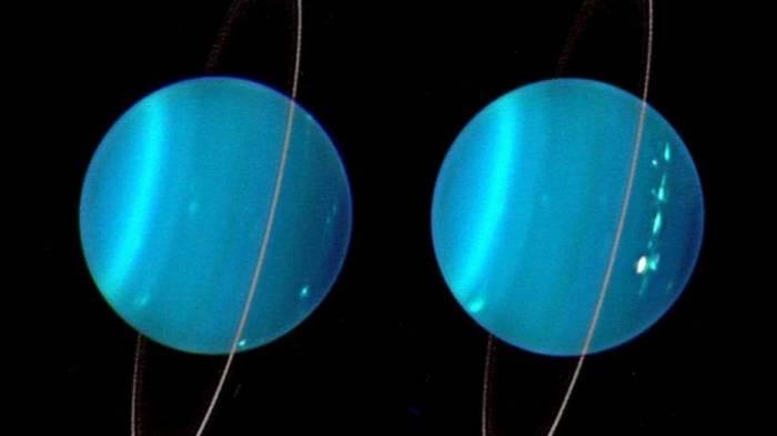 Something big crashed into Uranus and changed it forever