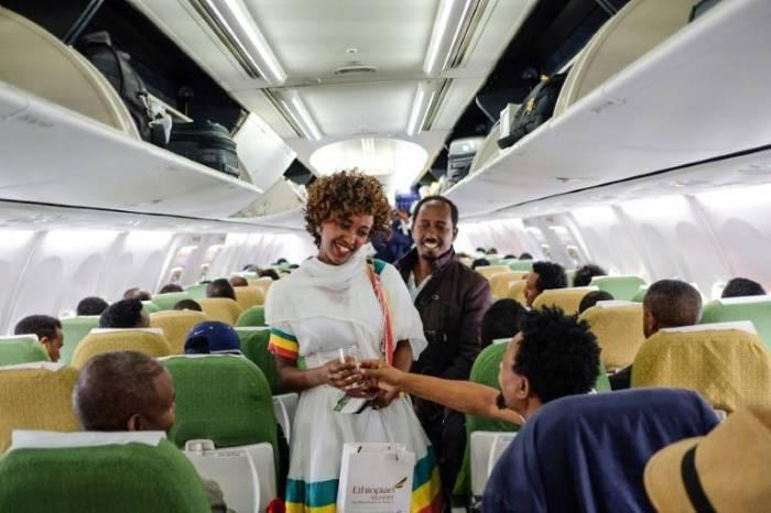 Primer vuelo en veinte años entre Etiopía y Eritrea