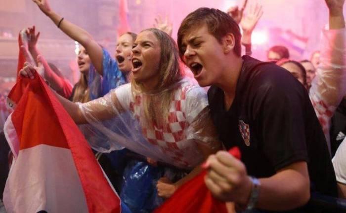 فرحة كرواتيا في كاس العالم -الصور الممتعة