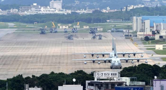 A Okinawa, 70.000 personnes protestent contre le transfert de la base militaire américaine