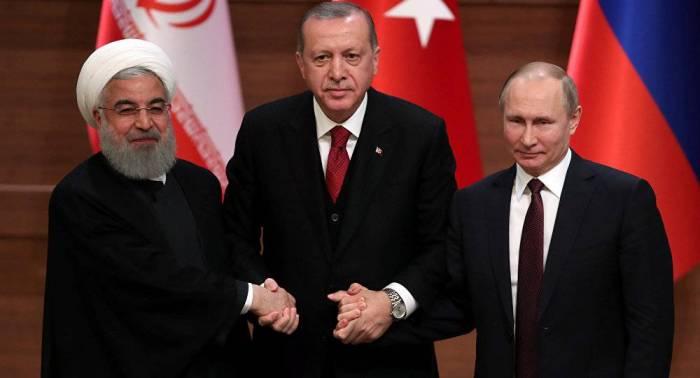 Putin, Ərdoğan və Ruhani Tehranda görüşəcək