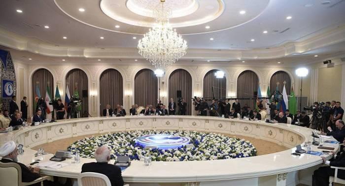 قاسمي: اجتماع قمة دول بحر قزوين مخصص لإقرار النظام القانوني للبحر