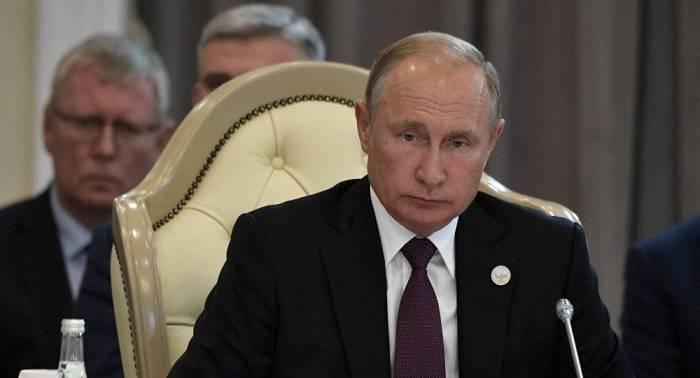 بوتين: اتفاقية بحر قزوين تضمن عدم وجود قوى غير إقليمية في البحر