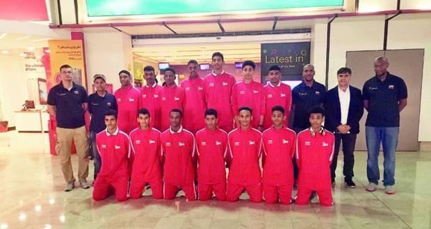 منتخبنا الوطني لناشئي السلة يواصل تدريباته بمعسكره الخارجي بالبحرين