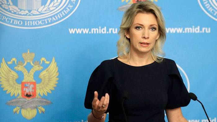 Zaxarova Rusiya-Azərbaycan əlaqələrini yüksək qiymətləndirdi