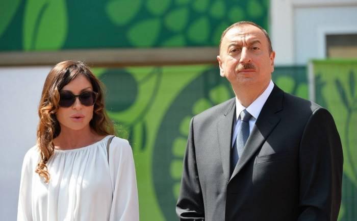 Prezident və xanımı İtaliyanın dövlət başçısına başsağlığı verib