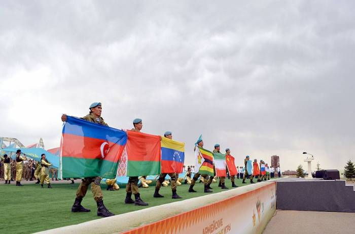 "Azerbaijani servicemen participate in opening ceremony of ""Masters of Artillery Fire"" contest - PHOTOS"