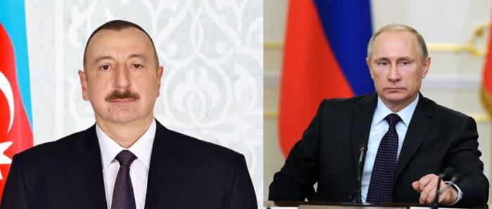 Aserbaidschans Präsident kondoliert seinem russischen Amtskollegen