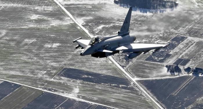 Spanischer Kampfjet feuert scharfe Rakete über Estland ab – Irrigerweise