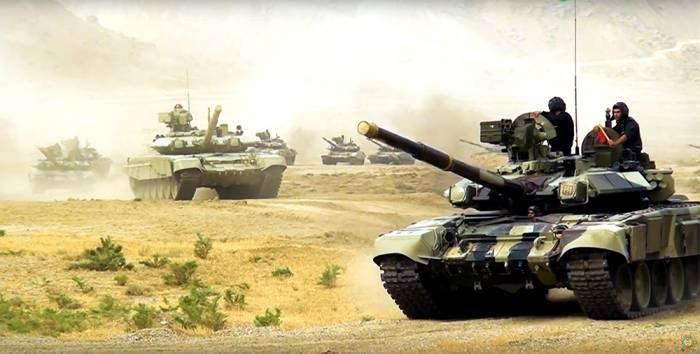 Tank units of Azerbaijan's armed forces begin intensive training- VIDEO