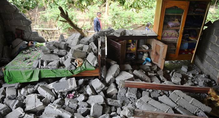 Erdbeben der Stärke 6,2 erschüttert Indonesien